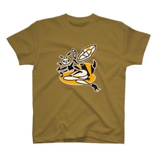 蜂ガール Tシャツ