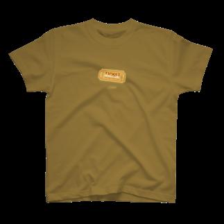 TRINCHのテアトルパピヨンの当日券 T-shirts