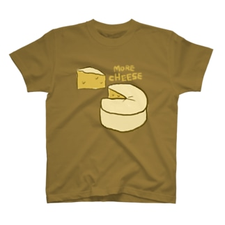 more cheese  T-shirts