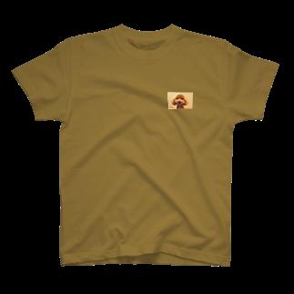 Ayanefukuの福が来るよ福ちゃんグッズ T-shirts