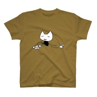 猫とマウス T-shirts
