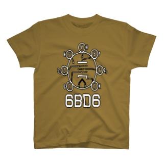 6BD6 T-shirts