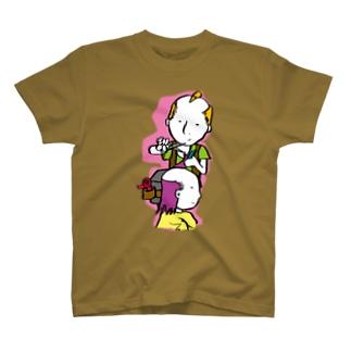 Beautician Boy/濃色Tシャツ T-shirts