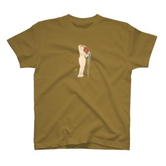 アングル「泉」 T-shirts