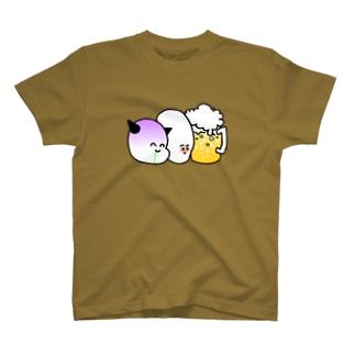 ビール党 T-shirts