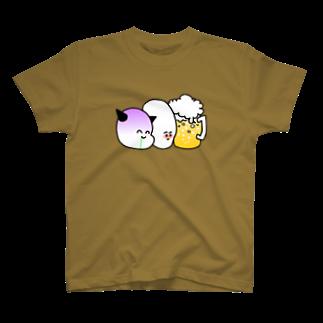 だぶるものおきのビール党 T-shirts