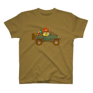 モミロマンくんのジープ T-shirts