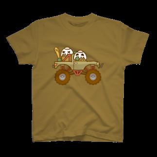 コメビツくんのガパオ族のモンスタートラック T-shirts
