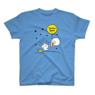 Spoiled Rabbit - Balloon / あまえんぼうさちゃん - 風船 Tシャツ