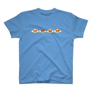 本日のハニートースト(ヨコ) Tシャツ