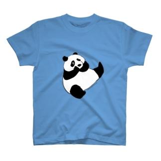 Panda panda Tシャツ