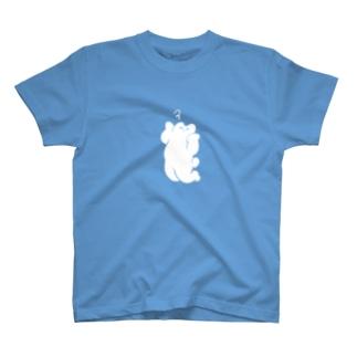 あたまがいたいシロクマ Tシャツ
