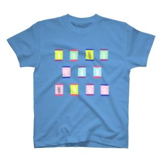 うさ標本 Tシャツ