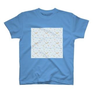 mizusawa model Tシャツ
