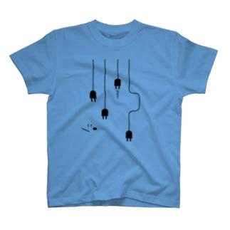 plug in ! (No.1) Tシャツ