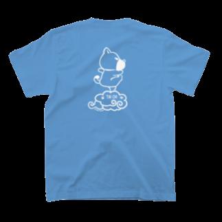 yukituboのドンジャオ犬 T-shirtsの裏面