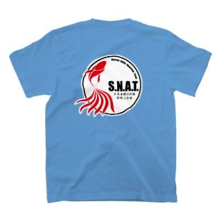 S.N.A.T 金魚 T-shirts