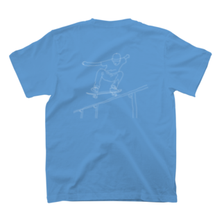 official_initiaのスケーターくん T-shirts