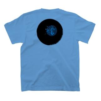 ナイトツアー@iriomote(青ヤシガニ・文字入り) T-shirts