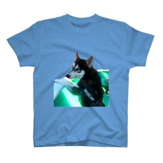 船乗りハスキー T-shirts