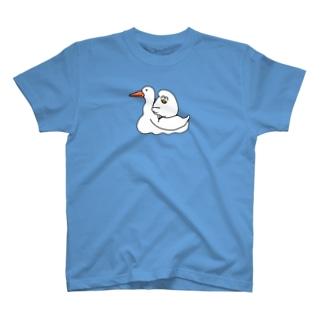 アヒルでなくガチョウ T-shirts