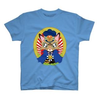 猫の駅長さん(ソマリ猫プリンちゃん)  T-shirts