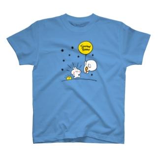 Spoiled Rabbit - Balloon / あまえんぼうさちゃん - 風船 T-shirts