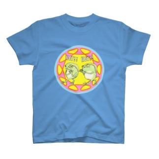 仲良しカエル兄弟 T-shirts