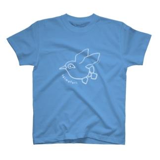 空飛ぶケイマフリ T-shirts