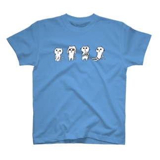 ねこの4兄弟 Tシャツ