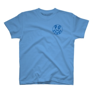 PO Study(Blue) T-shirts