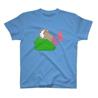 人魚のモルモット T-shirts