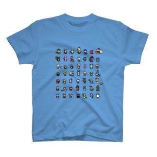 ネコブレイバー&フレンズ T-shirts