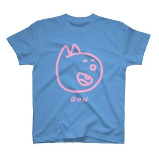 にっこりボンくん(ピンク) T-shirts
