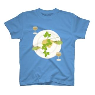 クツワムシの晩餐 T-shirts