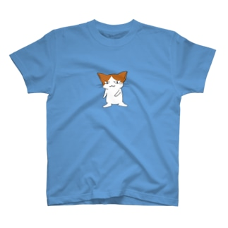 ニヒルな口の猫 T-shirts