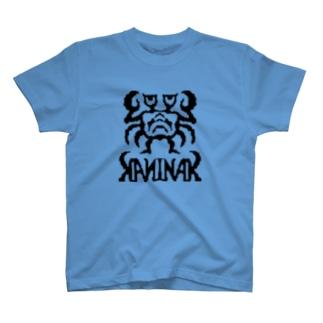カニナークKANINAK(bk) T-shirts
