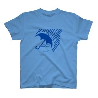 雨マーク T-shirts
