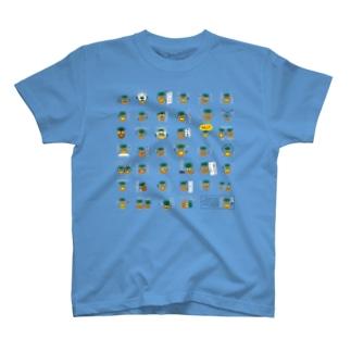 パイナップルスタンプ発売記念(全40+1) T-shirts