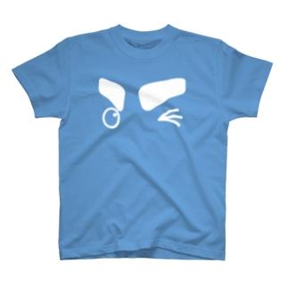 「ウィンク♪」 #シャチくん Tシャツ