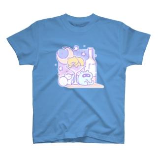アルコールタケネコ T-shirts