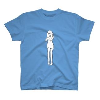 浮かばない Tシャツ