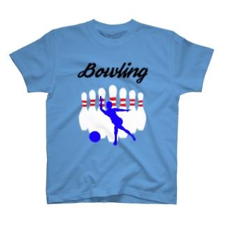 ボウリング(Bowling) T-shirts
