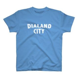 DIALAND CITY WHITE Tシャツ