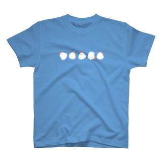 コロコロでぶどり T-shirts