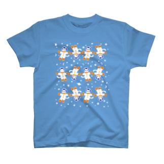 宇宙フォークダンス(無重力)  T-shirts