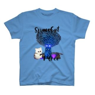 宇宙猫モコ Tシャツ