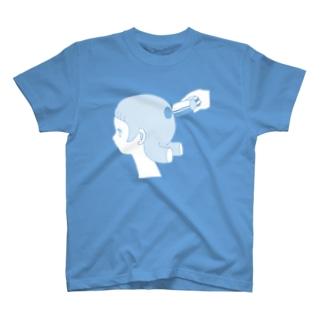 抜けてた(みずいろ) T-shirts