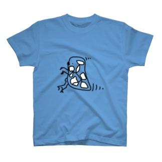 脳内ミジンコ 白細胞 T-shirts