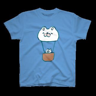 まっくすらぶりーうさのまっくすらぶりー熱気球 T-shirts